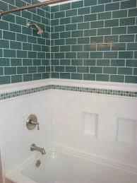 bathroom tile black subway tile white subway tile shower light