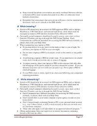 Sample Resume In Canada by Privacy Safe Guarding Sensitive Pii Handbook 2013
