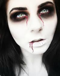 scary halloween make up 25 of the scariest makeup ideas for