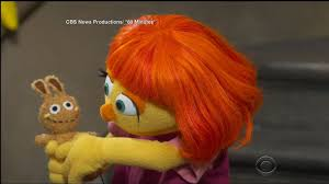 julia u0027sesame street u0027 muppet autism tv debut