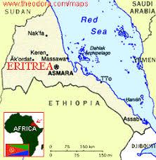 africa map eritrea conflict between and eritrea global issues