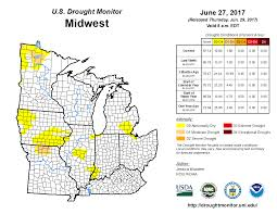 Map Of Mid Atlantic States by Drought June 2017 State Of The Climate National Centers For
