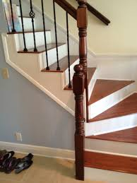 How To Install Laminate Flooring On Stairs With Stair Nose How To Installing Laminate Flooring Stairs