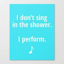 Etsy Bathroom Art Bathroom Art Singing In The Shower By Wordsmakeasentence On Etsy