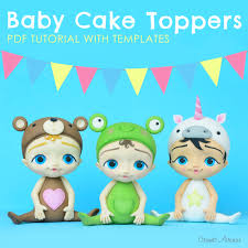 baby cake toppers crumb avenue tutorials by agnes jagiello baby cake toppers pdf