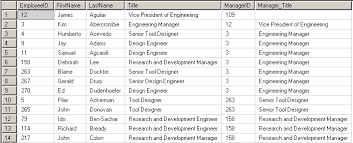 employee table sql queries new features in sql server 2005 cte common table expressions