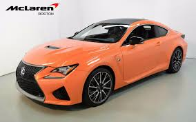 lexus sport car for sale 2015 lexus rc f for sale in norwell ma 000664 mclaren boston