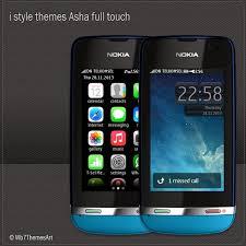 themes nokia asha 308 download i style theme for nokia asha full touch free asha 305 theme asha