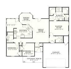 one story open concept floor plans split bedroom floor plans tarowing club
