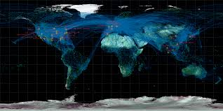 Flight Path Map Maps Of The Aircraft Global Connection System U2013 Diaphanous