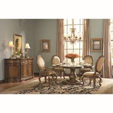 Large Round Dining Room Table Dining Tables Hooker Round Dining Table Credenza Sideboard High