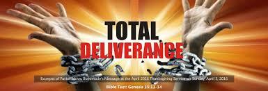 biblical sermon on thanksgiving total deliverance by pastor idowu iluyomade u003e rccg city of david