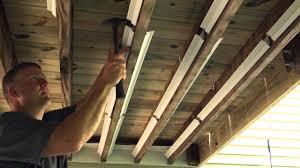 underdeck original outdoor ceiling installation u002715 youtube