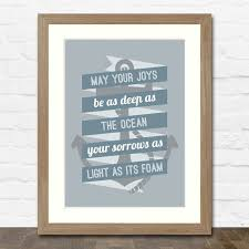 wedding quotes nautical may your joys be as as the your sorrows as light as