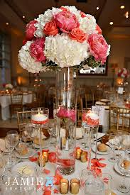 Ideas For Centerpieces For Wedding Reception Tables by Best 25 Coral Wedding Centerpieces Ideas On Pinterest Coral