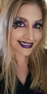 Make Up For Halloween Spider Web Halloween Makeup U2013 Almost Her