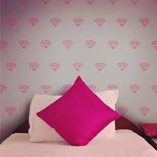 online get cheap diamond wall aliexpress com alibaba group modern diamond pattern vinyl wall decal set bling jem stone sticker wall art 60pcs