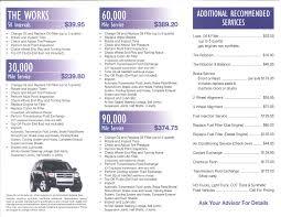 ford truck maintenance schedule ed koehn ford lincoln vehicle maintenance schedule and pricing