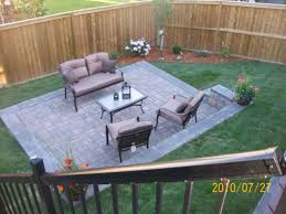 Slope For Paver Patio by Small Brick Patio Ideas 6823