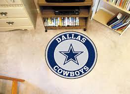 Dallas Cowboys Home Decor Cowboys Logo Roundel Mat 27
