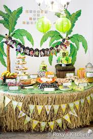 jungle theme decorations safari jungle themed birthday party part iii diy