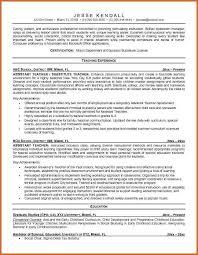 teaching resume examples resume name