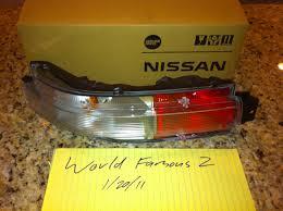 nissan 350z jdm parts fs jdm euro z33 350z rear fog lamp turn signal my350z com