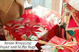 pinching tip reuse wrapping paper and gifts bags one