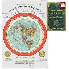 Dart Map Amazon Com Flat Earth Map Gleason U0027s New Standard Map Of The