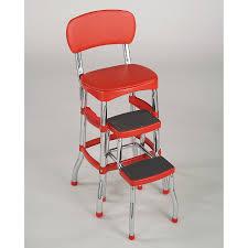 modern step stool kitchen vintage 1950s kitchen step stool retro mid century modern cosco
