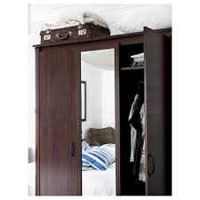 Doors Brusali Wardrobe With 3 Doors Ikea