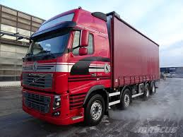 trucks for sale volvo used used volvo fh700 8x2 kapellilava curtain side trucks year 2010
