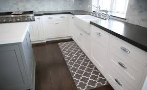 L Shaped Kitchen Rug Country Brown Moroccan Kitchen Rug Puts Near L Shaped White