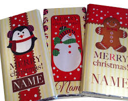 christmas chocolate personalised christmas polka dot chocolate by tailored chocolates