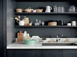 etageres de cuisine un rangement cuisine déco même sans placards