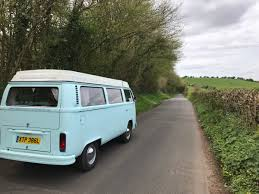 van volkswagen vintage a spring trip around the isle of wight in a vintage vw camper van