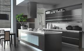 modern black cabinets kitchen the best quality home design
