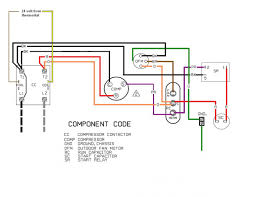 wiring diagram motor start capacitor run capacitor wiring diagram