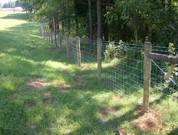 woven wire fence gate home gardens