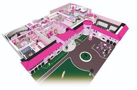 real life barbie dreamhouse experience with rfid wristbands zara