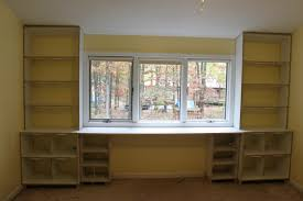 wall units astonishing bookshelves and desk built in built in