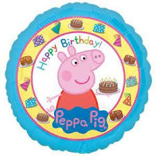 peppa pig party foil balloon peppa pig party toys and