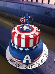 captain america cakes captain america cake i m thinking for my birthday lol cakes