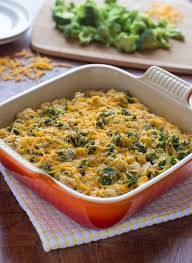 chicken broccoli rice casserole recipe with no soup healthy and easy