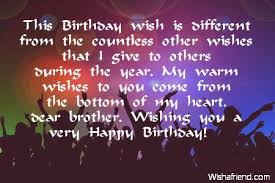 this birthday wish is different from the countless other wishes