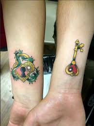 couple tattoo ideas to replace engagement rings cute wrist