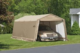 Awnings In A Box Outdoor Shelterlogic Instant Garage Shelterlogic Shelterlogic