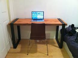 Diy Metal Desk Diy Wood Office Desk Delectable Family Room Picture New At Diy