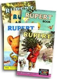 rupert bear rupert annuals