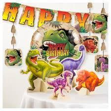 dinosaur birthday dinosaur birthday party decorations kit target